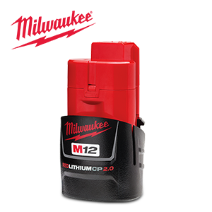 FREE Milwaukee M12 Battery via E-Rebate