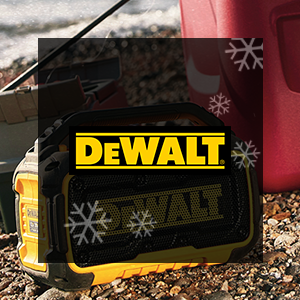 FREE DeWALT 20V MAX Impact Driver, Speaker or Battery