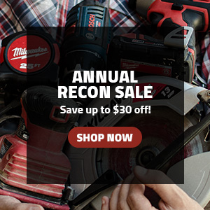 Annual Recon Sale - Save up to $30 off!