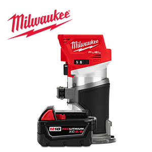 FREE Milwaukee Battery and Bare Tool