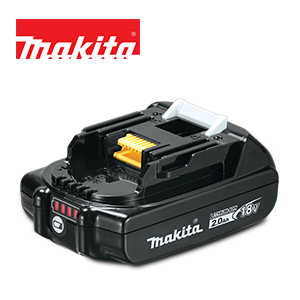 FREE Makita 18V LXT 2 Ah Battery