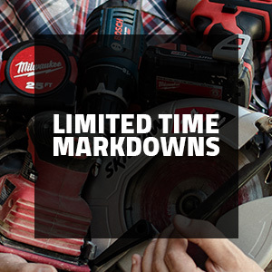 Limited Time Markdowns