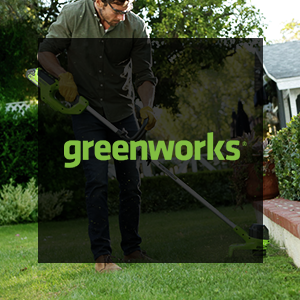 Up to 10% Off Greenworks Products