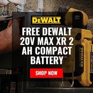 FREE DeWALT 20V MAX XR 2 Ah Compact Battery