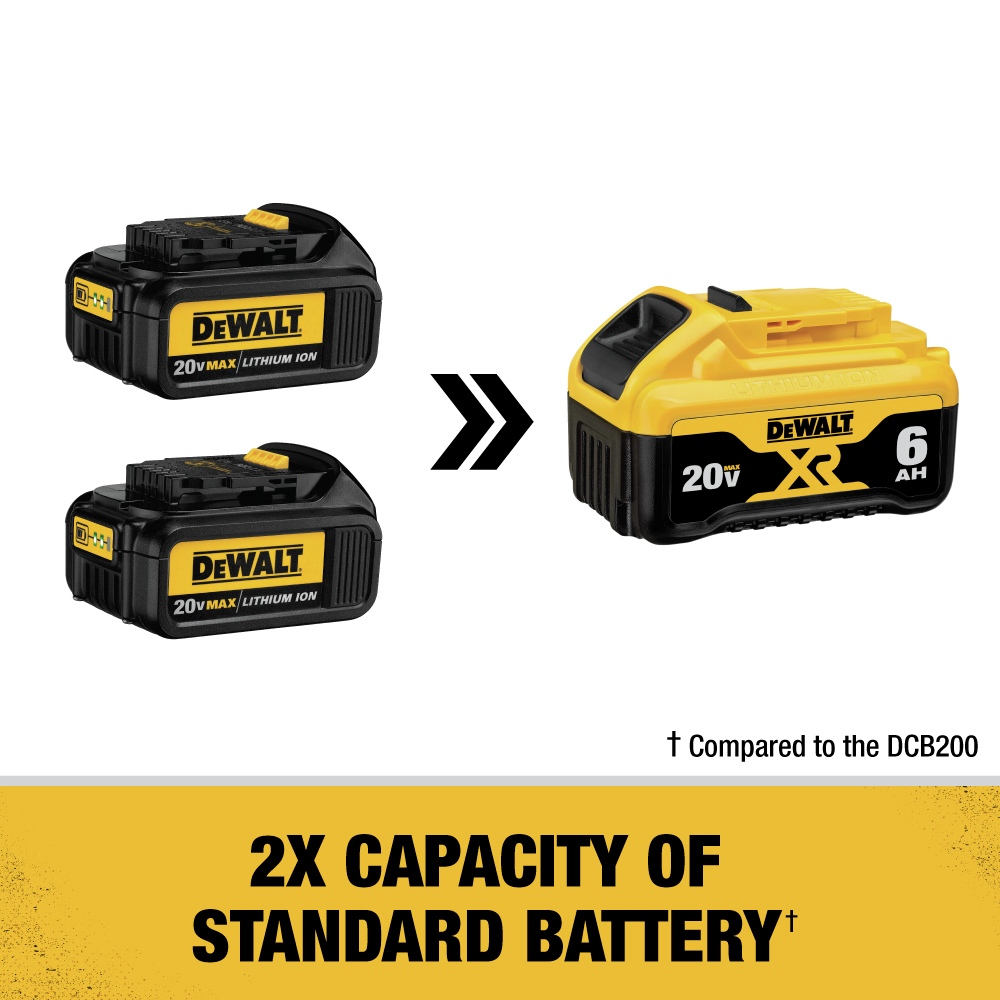 2X Capacity of Standard Battery