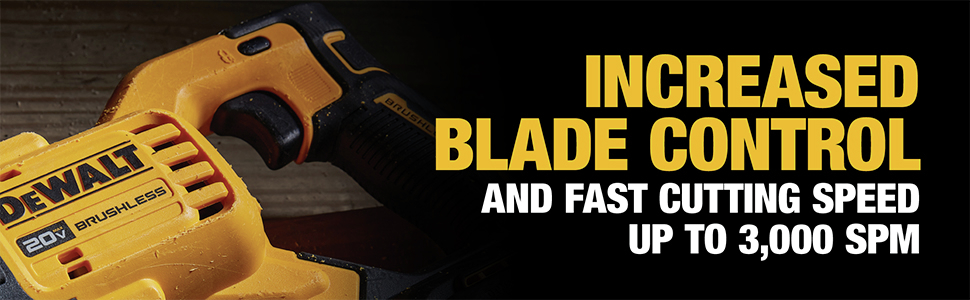 Increased Blade Control