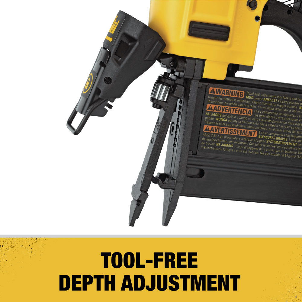 Tool-Free Depth Adjustment