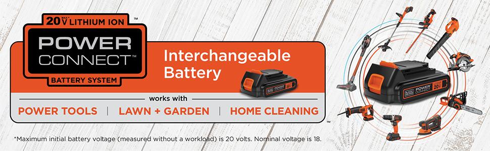 Interchangeable Battery