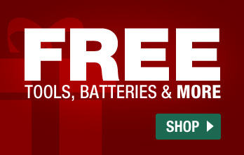 Free Tools, Batteries and More