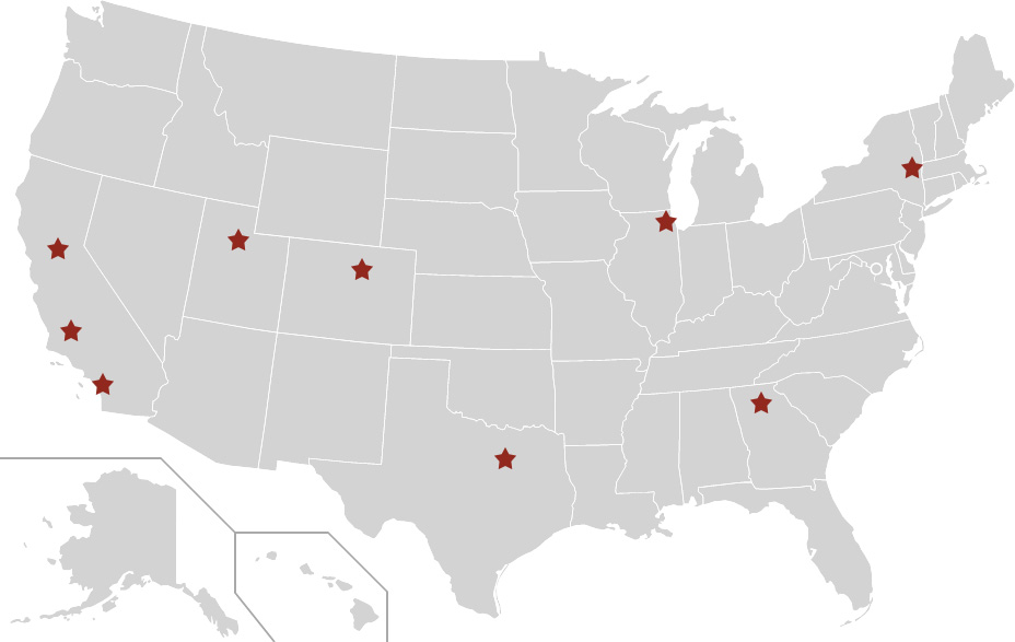 Distribution Center Map