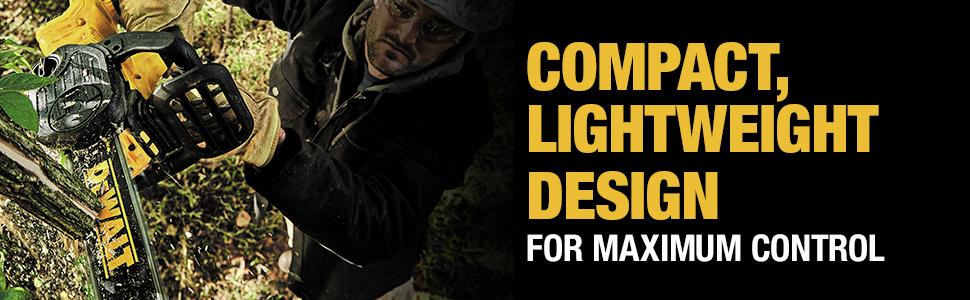 Compact, Lightweight Design For Maximum Control
