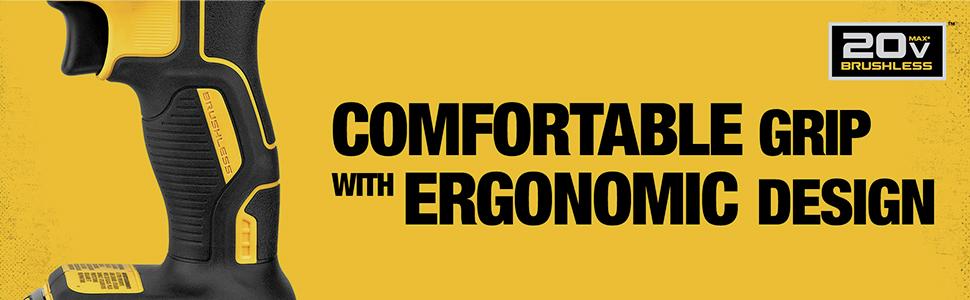 Comfortable Grip and Ergonomic Design