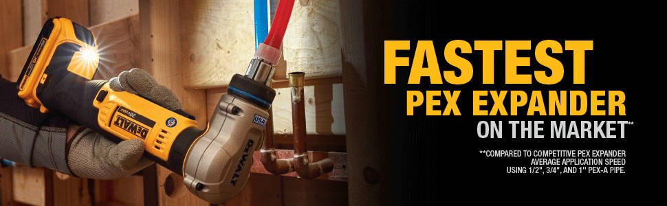 Fastest pex spander on the market