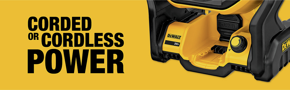 Corded or Cordless Power