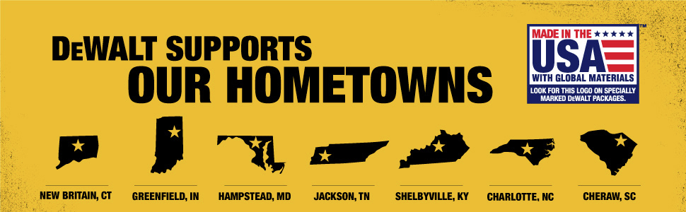 Dewalt Supports our Hometowns