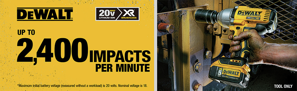 Up to 2,400 Impact per Minute