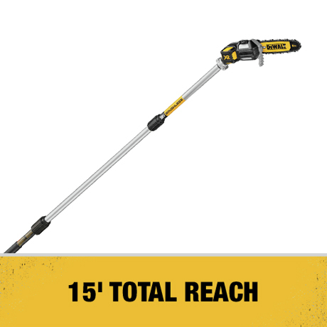 15 ft. Total Reach