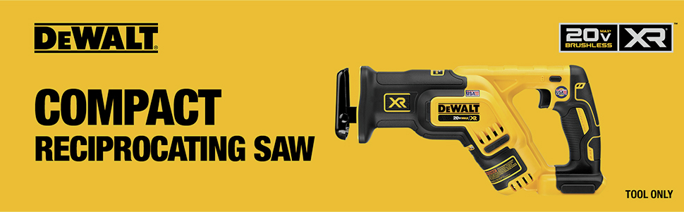 Compact Reciprocating Saw