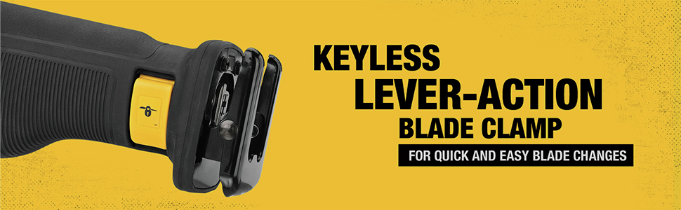 Keyless Lever-Action Blade Clamp