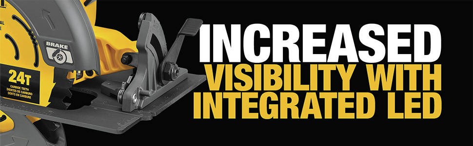 Increased Visibility With Integrated LED