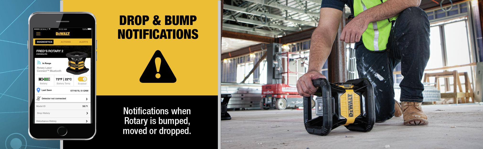 Drop and Bump Notifications
