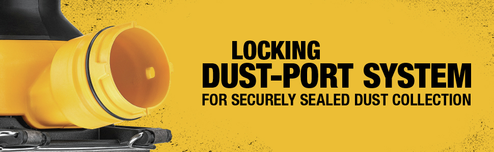 Locking Dust-Port System