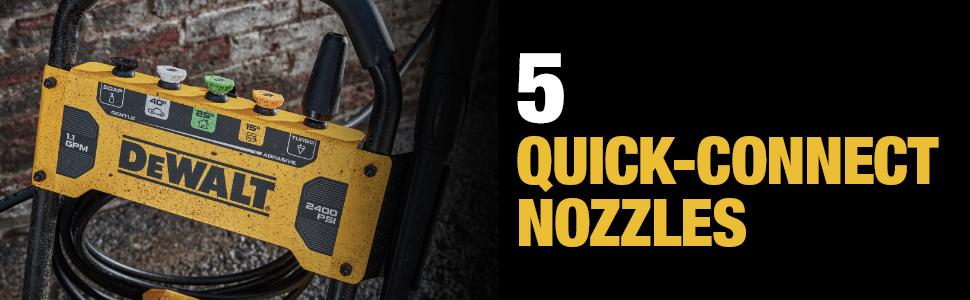 5 Quick-Connect Nozzles