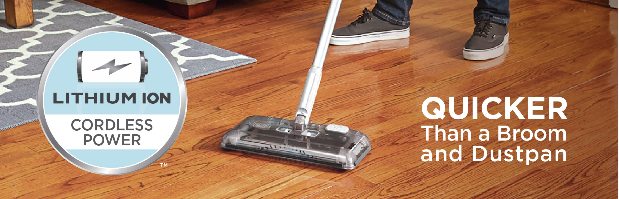 Quicker Than A Broom and Dustpan