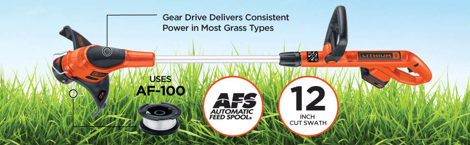 Gear Drive delivers power in most grass types