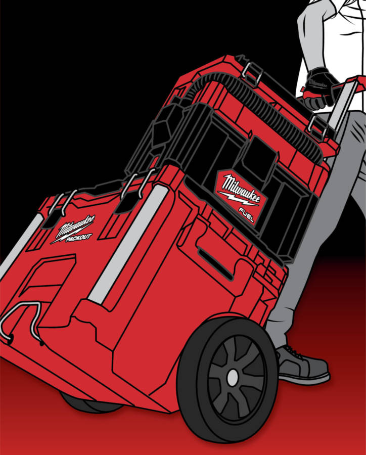 PACKOUT compatibility gives this cordless wet/dry vac unmatched mobility, saving downtime spent hauling tools on and off the jobsite