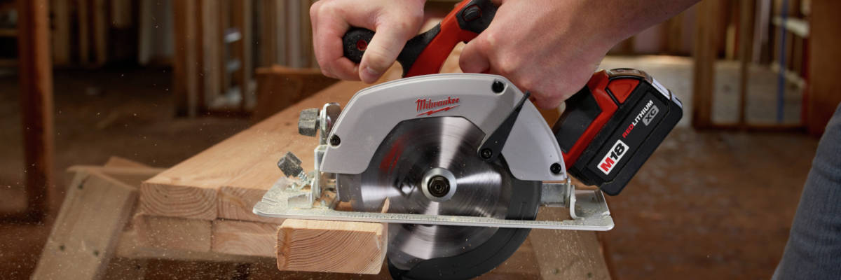 M18 Lithium-Ion 6-1/2 in. Circular Saw is ergonomic, compact and lightweight