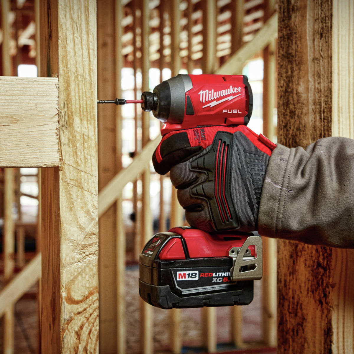 M18 FUEL 1/4 in. Hex Impact Driver is the most compact impact driver in the industry