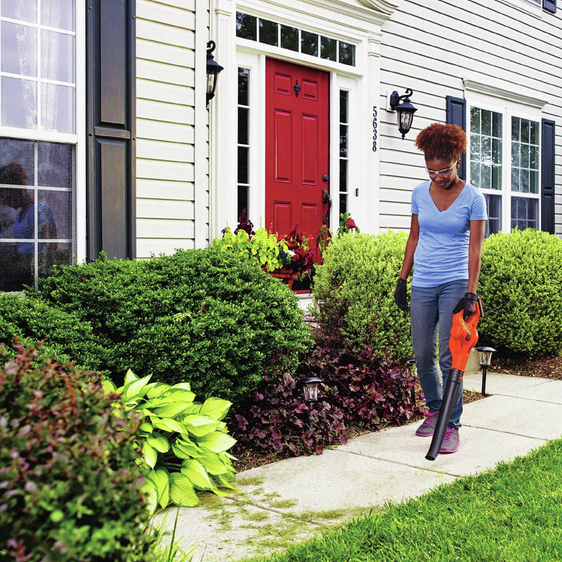 20V MAX 1.5 Ah Cordless Lithium-Ion Sweeper features low noise design for quiet operation