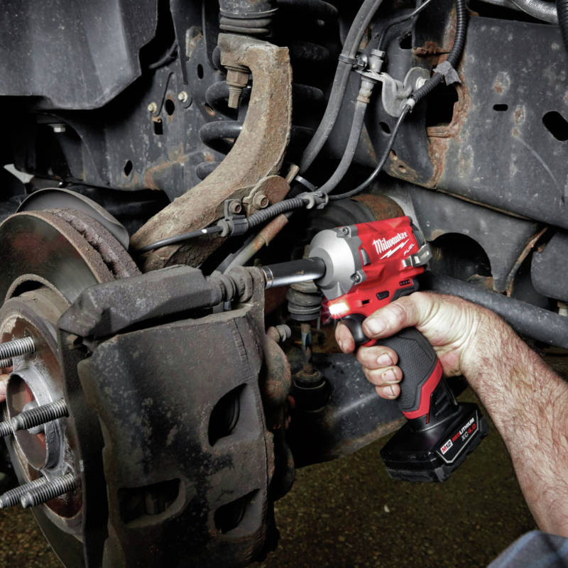 M18 FUEL Stubby Impact Wrench is the most compact in the industry
