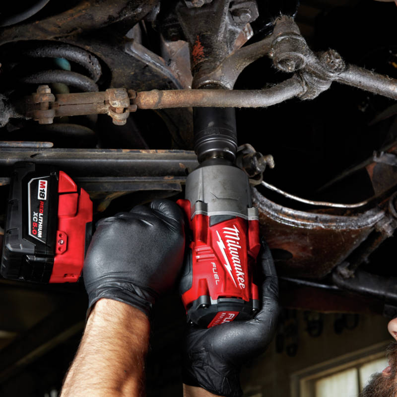 M18 FUEL 1/2 in. High Torque Impact Wrench features Bolt Removal Mode, providing more control when removing fasteners