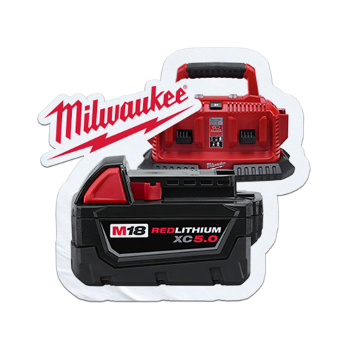 FREE Milwaukee Battery or Charger