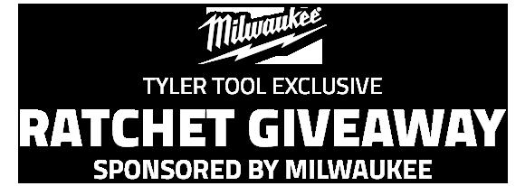 Milwaukee Ratchet Giveaway