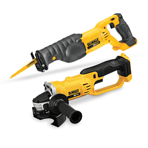 FREE DeWALT Multi-Tool or Reciprocating Saw