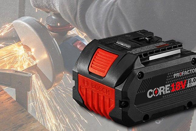 FREE Bosch 18V 8 Ah Battery