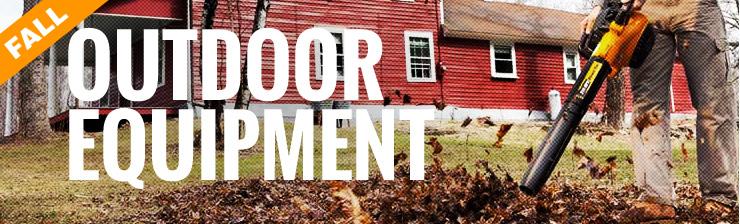 Tyler Tool Fall Outdoor Equipment