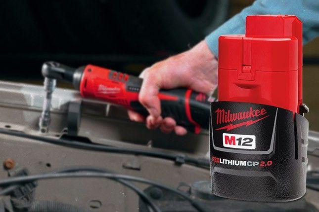 FREE Milwaukee M12 Battery