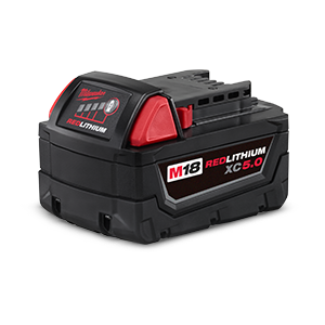 FREE Milwaukee M18 XC5.0 Battery