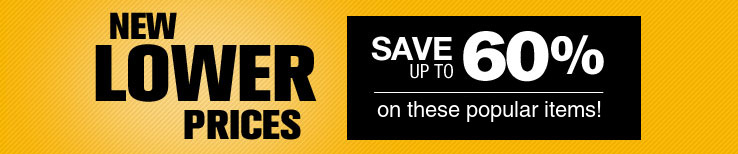 Lower Prices on Power Tools