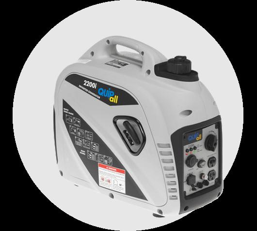 Quipall 2200I Inverter Generator (CARB)